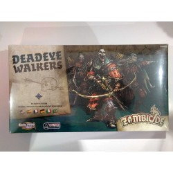 Zombicide Black Plague DEADEYE WALKERS ESPANSIONE arcieri zombie miniatures expansion box