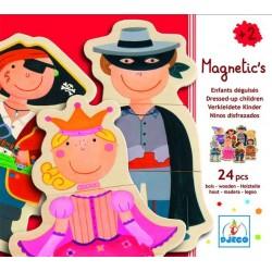 "Magnetic Puzzle ""Children transvestites"" 24 PCs, age 2 +"