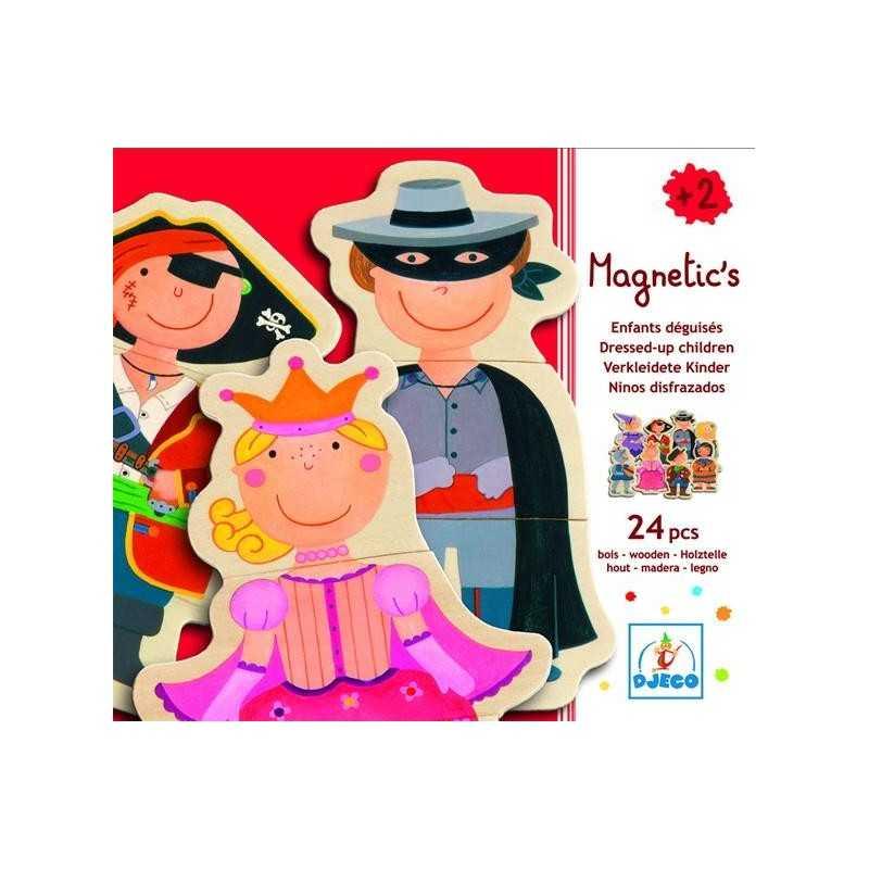 """Puzzle magnetico """"Bambini travestiti"""" 24 pz., età 2+"""