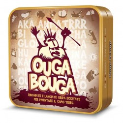 OUGA BOUGA gioco di carte sonoro party game cavernicolo