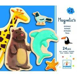 "Magnetic shapes ""animals"" 24 PCs, age 2 +"