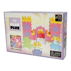 MINI PASTEL 760 pezzi CASTELLO PLUSPLUS gioco modulare costruzioni pastello castello