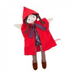 BURATTINO CAPPUCCETTO ROSSO Moulin Roty 711344 marionetta in peluche e stoffa