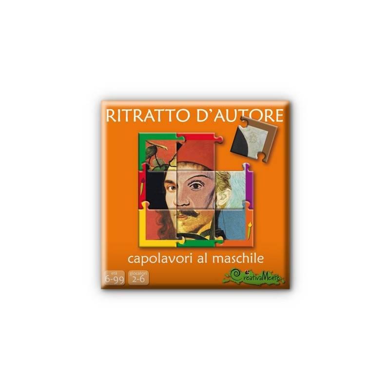RITRATTO D'AUTORE, CAPOLAVORI AL MASCHILE 2-6 giocatori età 8+