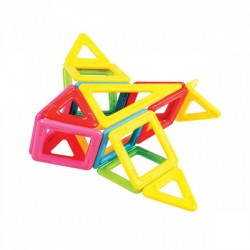 MAGFORMERS My First Tiny Friends Set 62 PZ line COSTRUZIONI magnetiche 3D età 3+