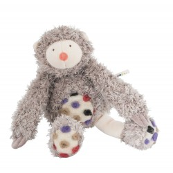 BRADIPO IN SCATOLA peluche pupazzo MOULIN ROTY 671032 Les Zazous