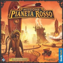 Missione : PIANETA ROSSO gioco da tavolo GIOCHI UNITI esplorazione  planetaria steampunk