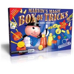 Marvin's Magic BOX OF TRICKS Made Easy 125 TRUCCHI MAGICI magia KIT prestigiatore illusionista
