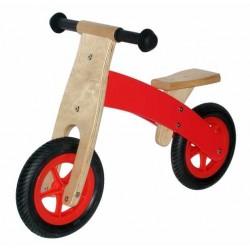 MINIBIKE bicicletta BICI IN LEGNO mini moto SENZA PEDALI Il Leccio DA 2 A 5 ANNI sviluppa equilibrio