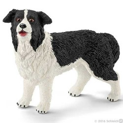 BORDER COLLIE animali in resina CANE Schleich DOG 16840 età 3+