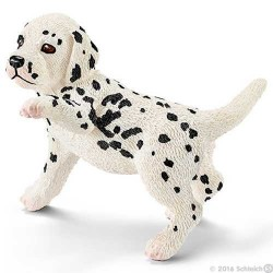 Cucciolo di DALMATA animali in resina SCHLEICH miniature 16839 Farm Life DOG cane