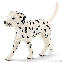 DALMATA MASCHIO animali in resina SCHLEICH miniature 16838 Farm Life DOG cane