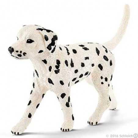 DALMATA MASCHIO animali in resina SCHLEICH miniature 16838 Farm Life DOG cane