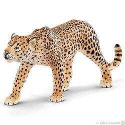 LEOPARDO animali in resina SCHLEICH miniature 14748 Wild Life LEOPARD 2016