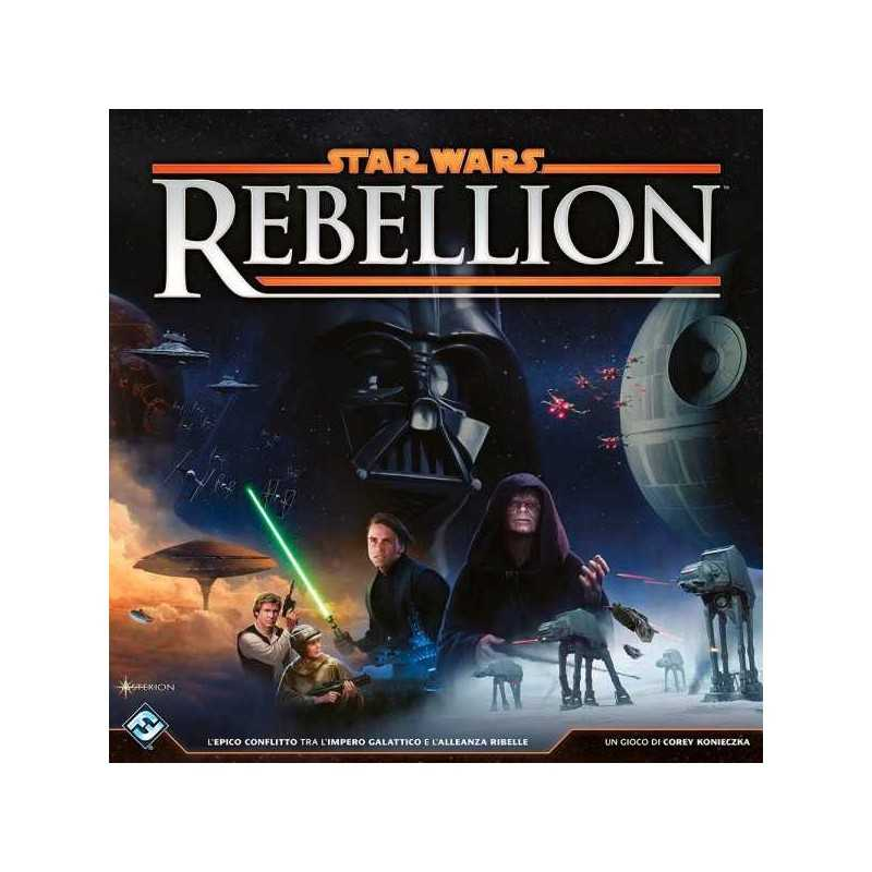 Star Wars REBELLION gioco da tavolo IN ITALIANO Fantasy Flight Games MINIATURE età 14+
