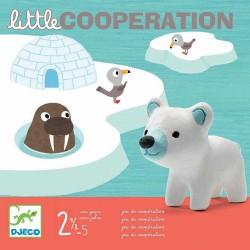 LITTLE COOPERATION Djeco GIOCO COPERATIVO collaborativo PER BAMBINI età 2 - 5 anni DJ08555