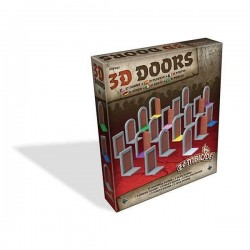 3D DOORS Zombie ZOMBICIDE Black Plague ESPANSIONE Asterion Press 27 PORTE