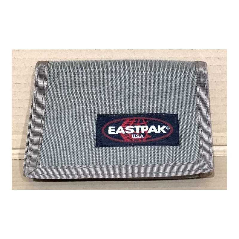 65dc1e673e PORTAFOGLIO Eastpak CREW SINGLE velcro zip BEIGE portafogli EK371237  classico