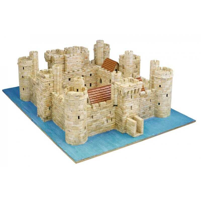 BODIAM CASTLE castello AEDES ARS 1014 kit di modellismo con mattoni in ceramica 5850 PEZZI