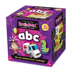 BRAIN BOX ABC gioco di carte ITALIANO memoria 10 MINUTI brainbox QUIZ età 4+