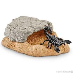 TANA DELLO SCORPIONE animali in resina SCHLEICH accessori 42325 miniature WILD LIFE età 3+