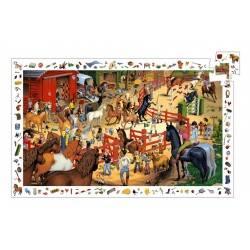 Entdeckung-Puzzle, Reiten, 200 Stück, im Alter von 6-8