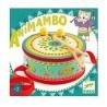 TAMBURO con tracolla ANIMAMBO drum DJECO in legno DJ06004 CON BACCHETTE età 2+