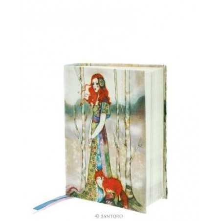 NOTEBOOK Willow THE GUIDE cloth 365EC02 SANTORO taccuino COPERTINA MORBIDA