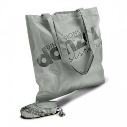 Dancing Sack in Scarpetta GRIGIO grey DIMENSIONE DANZA sisters ZIP borsina all'interno