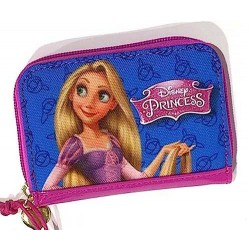 PORTAFOGLI wallet DISNEY PRINCESS elsa e la bella e la bestia PORTA MONETE soldi DREAM BIG
