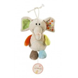 CARILLON elefante DUNDI peluche NINNA NANNA my first NICI pupazzo 0 MESI + Brahms