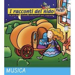 PRINCIPESSE E PRINCIPI audio CD Coccole Sonore racconti del nido 4 fiabe narrate