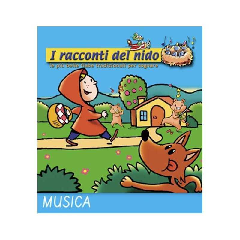 AL LUPO AL LUPO audio CD Coccole Sonore racconti del nido 4 fiabe narrate