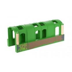 TUNNEL FLESSIBILE flexible BRIO ferrovia TRENO trenino 33709 da 1 a 3 tunnnel COMPONIBILE età 3+