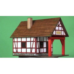 FUCINA A GRATICCIO in legno WALACHIA modello da costruire COSTRUZIONI età 8+