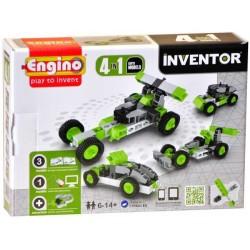 INVENTOR 4 in 1 CAR MODELS Engino KIT costruzioni in plastica GIOCO età 6+
