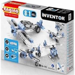INVENTOR 8 in 1 AVIATION MODELS Engino KIT costruzioni in plastica GIOCO età 6+