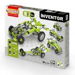 INVENTOR 16 in 1 CAR MODELS Engino KIT costruzioni in plastica GIOCO età 6+