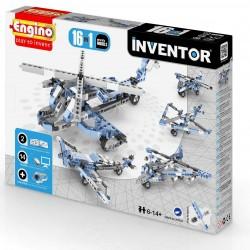 INVENTOR 16 in 1 AVIATION MODELS Engino KIT costruzioni in plastica GIOCO età 6+