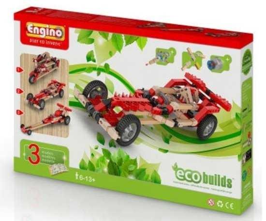 Motorized Motorized Motorized Racers CARS Eco Builds 3 AUTO MOTORIZZATE Engino KIT costruzioni in le 04272c