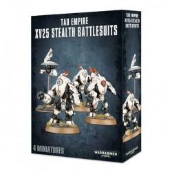 XV25 STEALTH BATTLESUIT Warhammer 40000 TAU EMPIRE 4 miniature Citadel GAMES WORKSHOP 40k età 12+