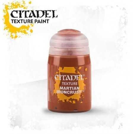 MARTIAN IRONCRUST Citadel Texture COLORE 24 ml WARHAMMER boccetto MODELLISMO età 12+