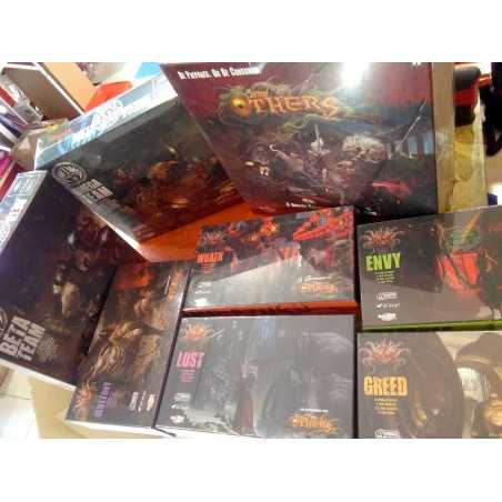 THE OTHERS 7 SINS Special Kickstarter Edition FAITH PLEDGE Omega Beta Team expansions
