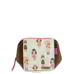 MINI TROUSSE traveller accessory case LONDON bag 627GJ02 Santoro GORJUSS