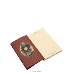 TACCUINO A RIGHE lined notebook THE HATTER Chronicles GORJUSS 613GJ02 Santoro