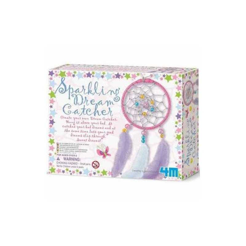 Sparkling Dream Catcher ACCHIAPPASOGNI kit artistico 4M make your own PER SONNI TRANQUILLI età 5+