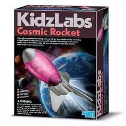 Cosmic Rocket RAZZO COSMICO decolla 4M kit scientifico KIDZ LABS età 8+