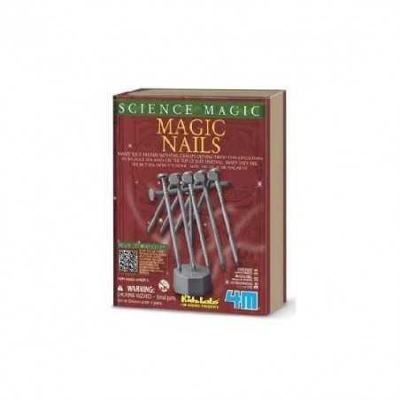 MAGIC NAILS science CHIODI MAGICI trucco magico 4M kit di magia KIDZ LABS età 5+