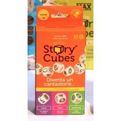STORY CUBES Original + 3 Mix COMBO set gioco base + espansioni RORY'S gioco DADI età 6+