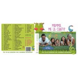MAMMA ME LA CANTI 2 cofanetto CD+DVD mammamelacanti 2016 60 canzoni per bambini